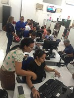 Servidores cedidos pela Câmara Municipal já estão reforçando a equipe do Cartório Eleitoral