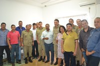 Vereadores reuniram com representantes dos Bombeiros de MT